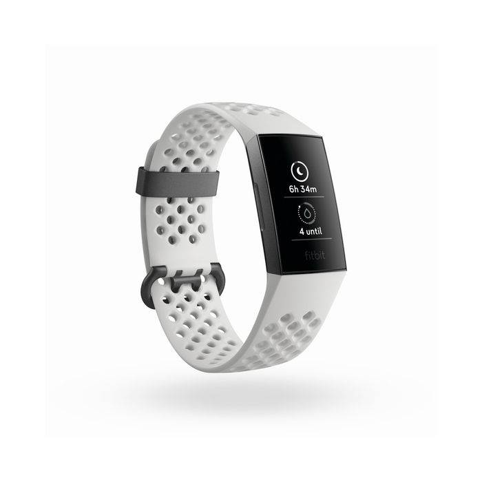 fitbit charge 3 special edition bianco