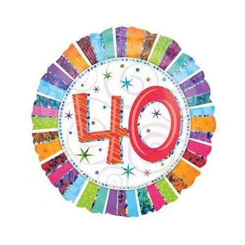 BIGIEMME S.R.L. Palloncino Buon Compleanno 40