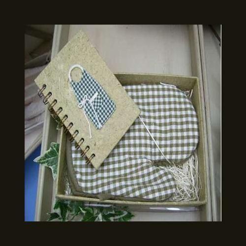 old & new s.r.l. libro di ricette e guanto verde