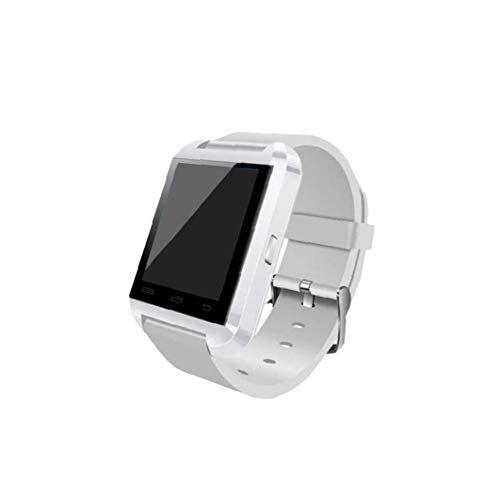 LjzlSxMF 1 Pz Unisex Di Sport Di Bluetooth Smart Watch Phone Mate Della Cinghia Del Silicone Chiamate Ricordando Bianco Dell'Orologio