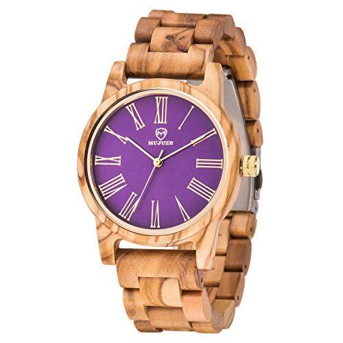 mujuze orologi polso legno