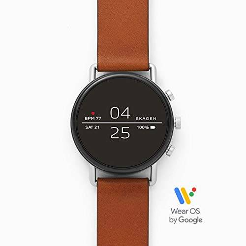 Skagen Smartwatch Uomo con Cinturino in Pelle SKT5104