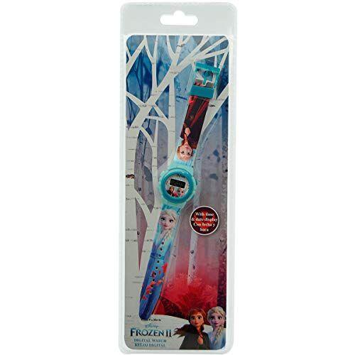 Kids-Licensing Orologio da polso digitale automatico per bambini Frozen 2 Disney Girl Watch 21cm