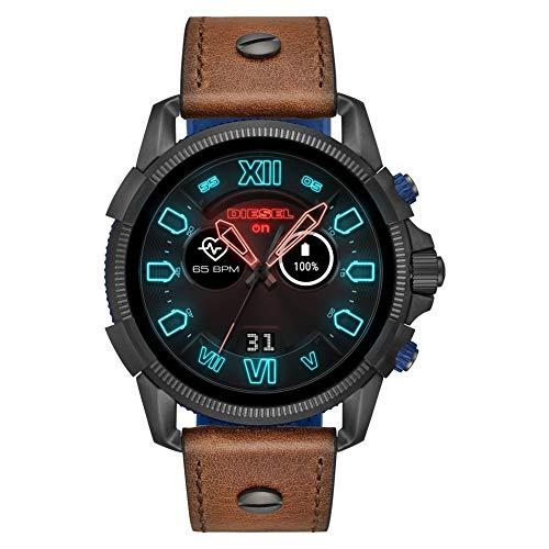 Diesel Smartwatch Uomo con Cinturino in Pelle DZT2009