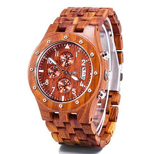 bewell orologi polso legno