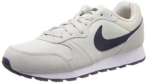 Nike MD Runner 2, Scarpe da Running Uomo, Grigio (Light Bone/Obsidian 009), 42 EU
