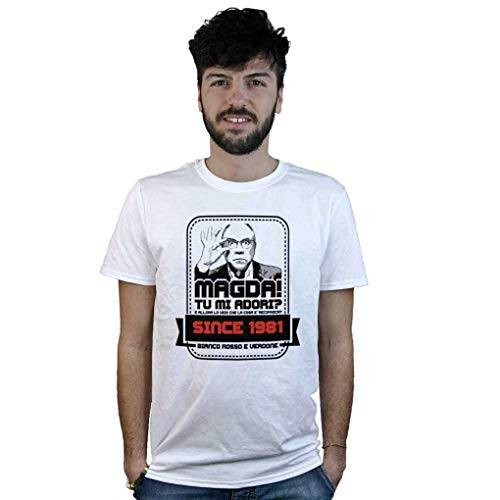 Doctor Music Shirt T-Shirt Furio, Magda Tu Mi Adori? Maglietta Divertente Film, Cinema Commedia