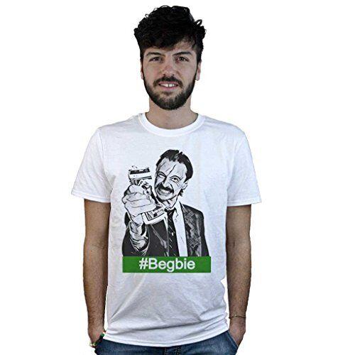 Doctor Music Shirt T-Shirt Trainspotting Begbie, Maglietta Bianca, Artwork Cinema Film Cult Movie