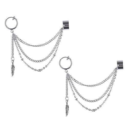 GOTH Perhk Kpop BTS Bangtan Boys V orecchini coreani moda gioielli accessori per uomini e donne 1 paio e Lega, colore: Have Pierced Ears, cod. }63)80}64414528 * 2