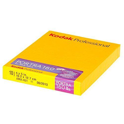 Kodak Portra, Pellicola-Film per Foto a Colori 160, 10 Pezzi, 4 x 5 pollici