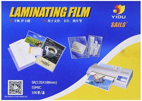 sourcingmap 100 pezzi 135 mm 55 microfono 5R x188mm Carta fotografica Cards-Buste per plastificazione, Film