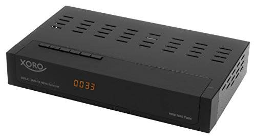 MAS Elektronik MAS elettronico HRM 7670Twin DVB-C/DVB-T/T2HD Ricevitore Nero