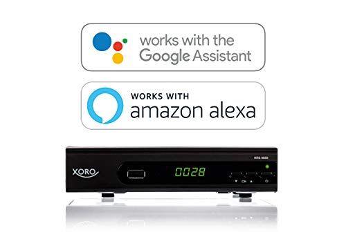 MAS Elektronik MAS elettronico HRS 8660Smart Xoro DVB-S2Ricevitore (Alexa, LAN, USB PVR Ready, MMP) nero