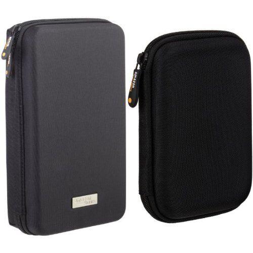AmazonBasics - Custodia da viaggio universale per dispositivi elettronici e accessori (fotocamere, cellulari, GPS), colore: Nero & Custodia per Hard Drive esterno