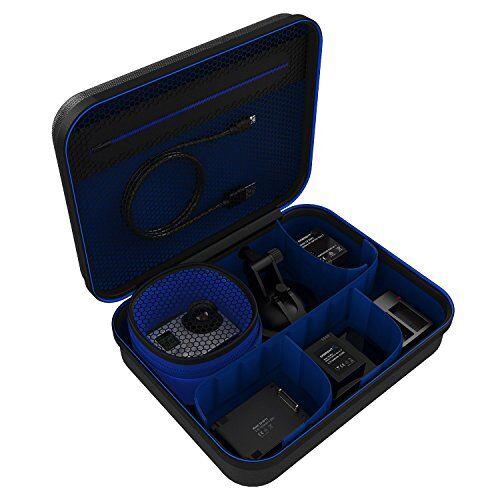 Sabrent Custodia da Viaggio Universale per GoPro o Elettronica/Accessori di Piccole Dimensioni [Media] (GP-CSBG)