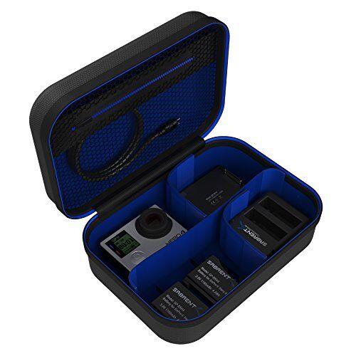 Sabrent Custodia da Viaggio Universale per GoPro o altra Elettronica e Accessori [Piccola] (GP-CSSL)