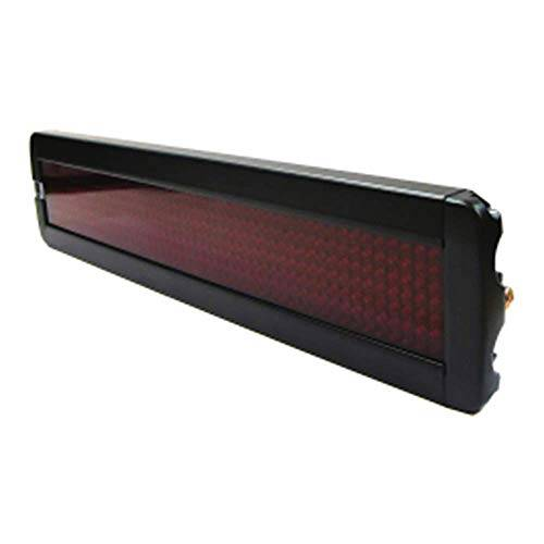 Cablematic LED elettronica segno 50x7 DisplayMatic del LED rosso