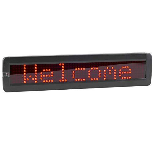 Cablematic LED elettronica segno DOT DisplayMatic di 50x7 rosso