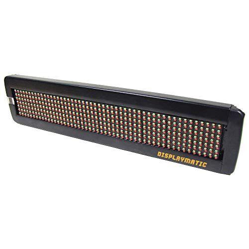 Cablematic LED elettronica segno 50x7 DisplayMatic di LED rossi e verdi