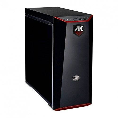 Ak Informatica AK Rig PC Gaming, Processore Intel i3 8100, Memoria RAM DDR4 8, GB SSD 240 GB, HDD 1 TB, Scheda Grafica VGA GTX 1050 TI 4 GB