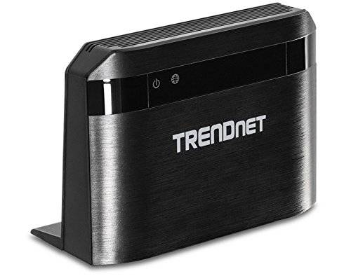 TRENDnet Router Dual Band WiFi Wireless AC750 300 Mbps TrendNet HD Movies Film Gaming Music