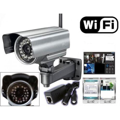 TEKNO ELETTRONIC IP Camera Telecamera Wireless x Esterno WIFI Videosorveglianza Notturna IPCAM 11