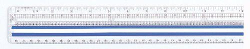 Westcott informatica ingrandimento righello, 30,5cm, trasparente (14125)