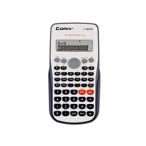 SFFSMD Calcolatrice, Di Modo Funzione Calcolatrice 240 Kinds Of Funzionale Informatica (per Junior Studenti Delle Scuole Superiori) Verde, Grigio (Color : Gray)