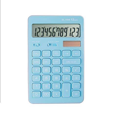 NQINHANForniture per ufficio doppio potere calcolatrice multifunzione calcolatrice informatica computer studente