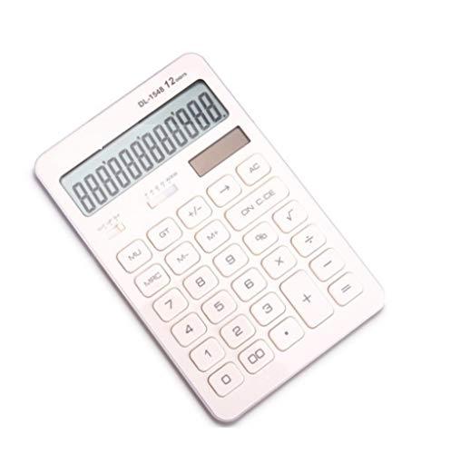 GMUSHENForniture per ufficio doppio potere calcolatrice multifunzione calcolatrice informatica computer studente