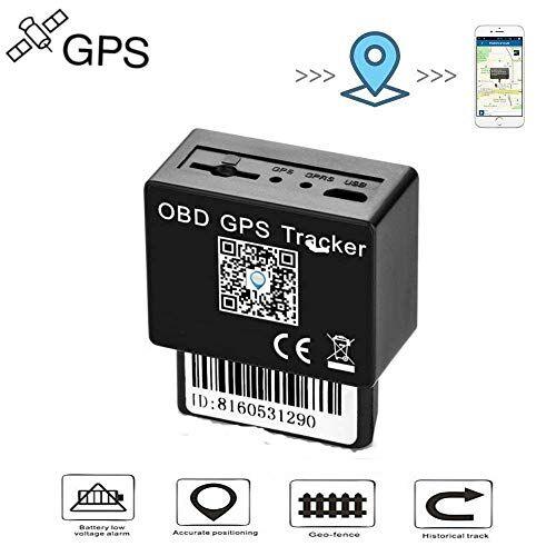 MUXAN Localizzatore GPS tracker per auto auto moto camion veicolo in tempo reale monitoraggio impermeabile mini GSM/GPRS/SMS Tracker OBD TK816