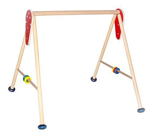 Hess 13300 - Bambino Giocattolo in Legno, attività Baby Gym, Senza Attrezzatura