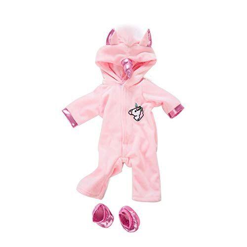 AAGOOD Bambole American Girl Unicorn Tuta Set creatività Cavallo Modello Doll Clothes con Le Scarpe da Kit Dolls Decor Abbigliamento Regalo di Natale del Bambino 1set Rosa