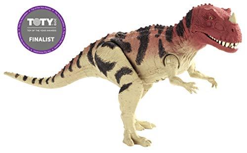 Jurassic World- Ceratosauro Dinosauro con Suoni Ispirato al Film, 12.7 cm, FMM29