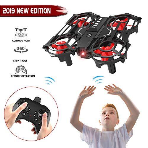 Joyjam Giocattoli per Bambini Ragazze 5-12 Anni Mini Drone per Bambini Elicottero Telecomandato Aereo Telecomandato al Coperto Giochi All'aperto per Bambini Regali