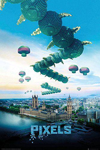 empireposter Pixels - Centipede Film Kino Science Fiction Poster Plakat Druck - Grösse 61x91,5 cm