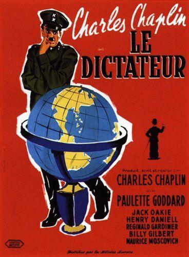 1art1 Empire 353894 - Poster film Il grande dittatore, Charlie Chaplin, 68 x 98 cm