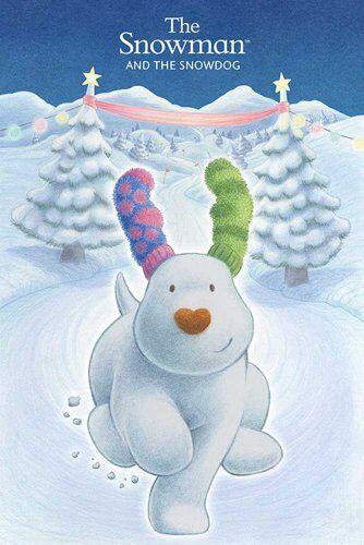 Empire Merchandising GmbH Empire Merchandising 633 620 Snowman And The Snowdog, Il Formato Poster Snowdog Film Film Film d'Animazione di Natale 61 x 91.5 cm