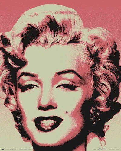 Empire Merchandising 523 594 Marilyn Monroe - Pop Art - Film Donne VIP Mini-Poster - Pressione - Dimensioni 40 x 50 cm