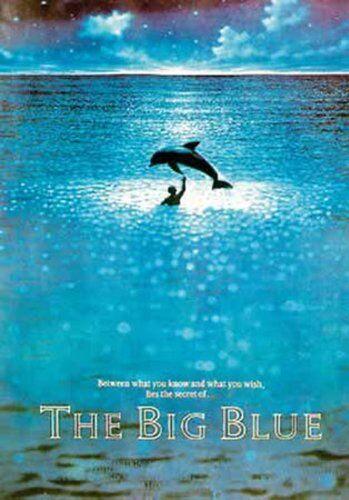 1art1 Empire 203526 Poster Film Le Grand Bleu, Jean Reno e R. Arquette 70x100 cm