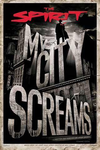 1art1 Impero 102775 Lo Spirito - My City Screams Poster del Film Poster - 61 x 91,5 cm
