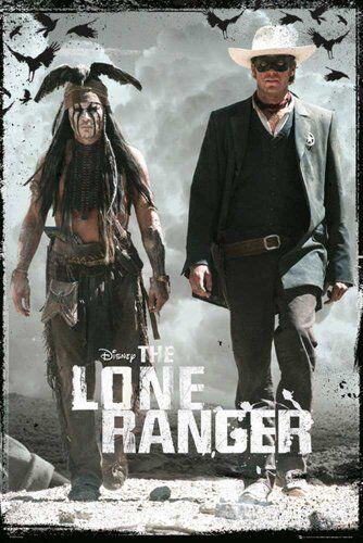 Empire Merchandising GmbH Empire - Poster del Film The Lone Ranger, con Accessori per Il Fissaggio Multicolore