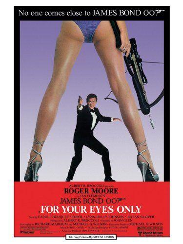 James Bond - Locandina del Film Solo per i Tuoi Occhi, 60 x 80 cm (in Lingua Inglese)