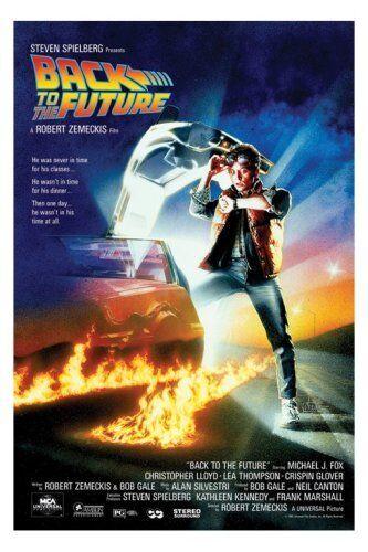Empire Merchandising GmbH Empire 261632 Poster Ritorno al Futuro, Michael J. Fox, Film, ca. 91,5 x 61 cm
