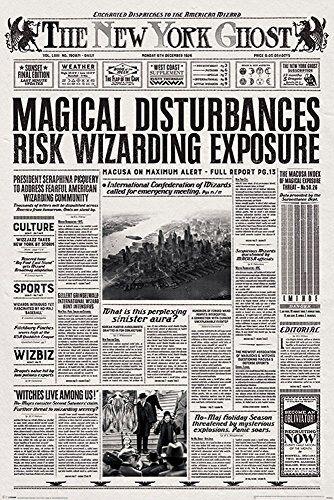 empireposter Fantastic Beasts - Phantastische Tierwesen - The New York Ghost - Film Kino - Poster Druck - Größe 61x91,5 cm