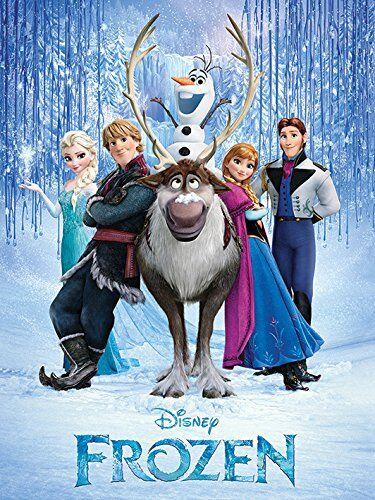 Hasbro Frozen foto su tela / Stampa barella 60 x 80 cm, le foto decorazione - Film decorativi / Film / TV Stars vendita di quadri