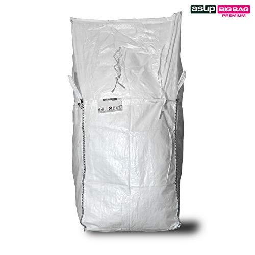 Enviro Superbag Big Bag 90x 90x 110cm, grembiule rabbocco, Pattini in linea in LDPE, SWL 1500kg