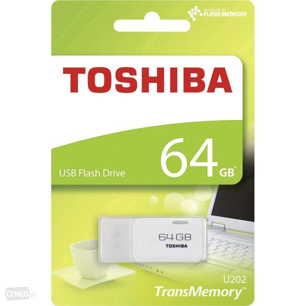 INFORMATICA PENDRIVE 64GB TOSHIBA USB 2.0 64GB THN-U203W0160E4 COLORE BIANCA