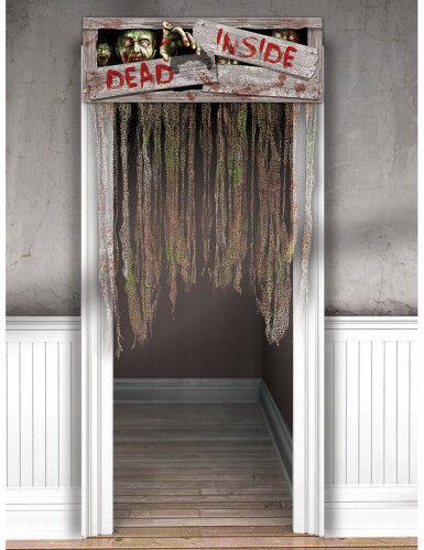 AMSCAN Decorazione Halloween: tenda zombie Taglia unica