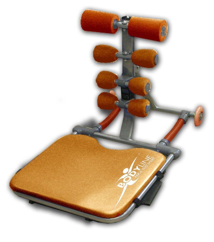 Bodyline Panca AB Stretch, Taglia: Unica, Unisex, Arancio, 08008000866196109Arancio